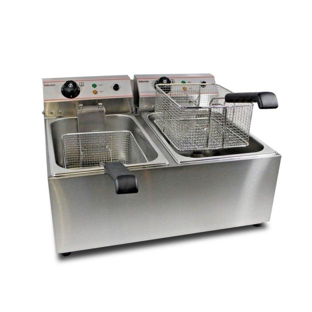 Electric Double Countertop Fryer (Ref: RHC4213) – Warrington, Cheshire