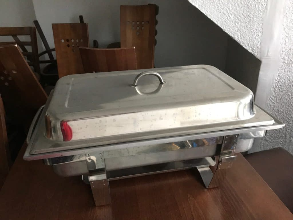 5x Stainless Steel Chafing Sets – Teddington, Middlesex