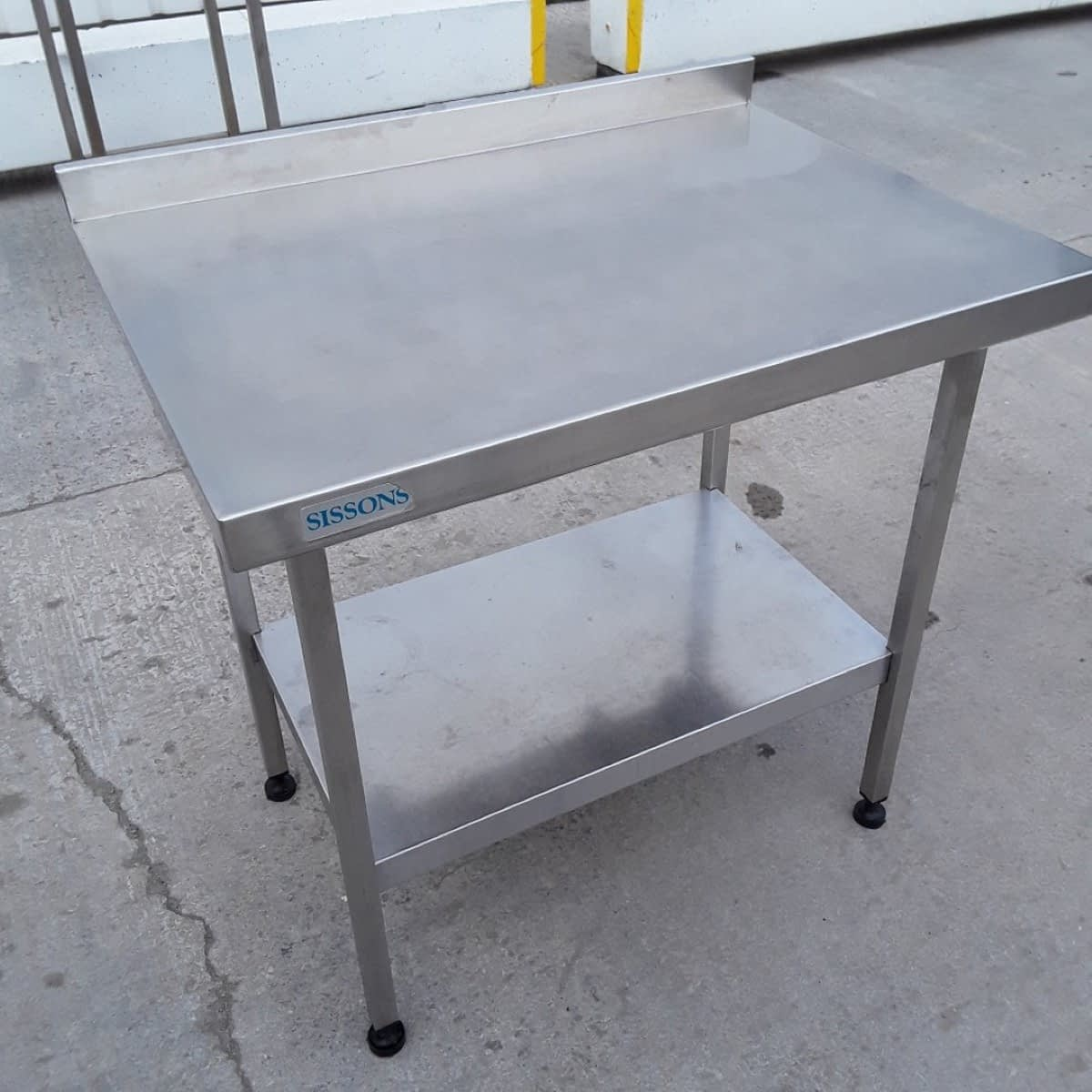 Used Sissons Stainless Steel Table (10322) – Bridgwater, Somerset