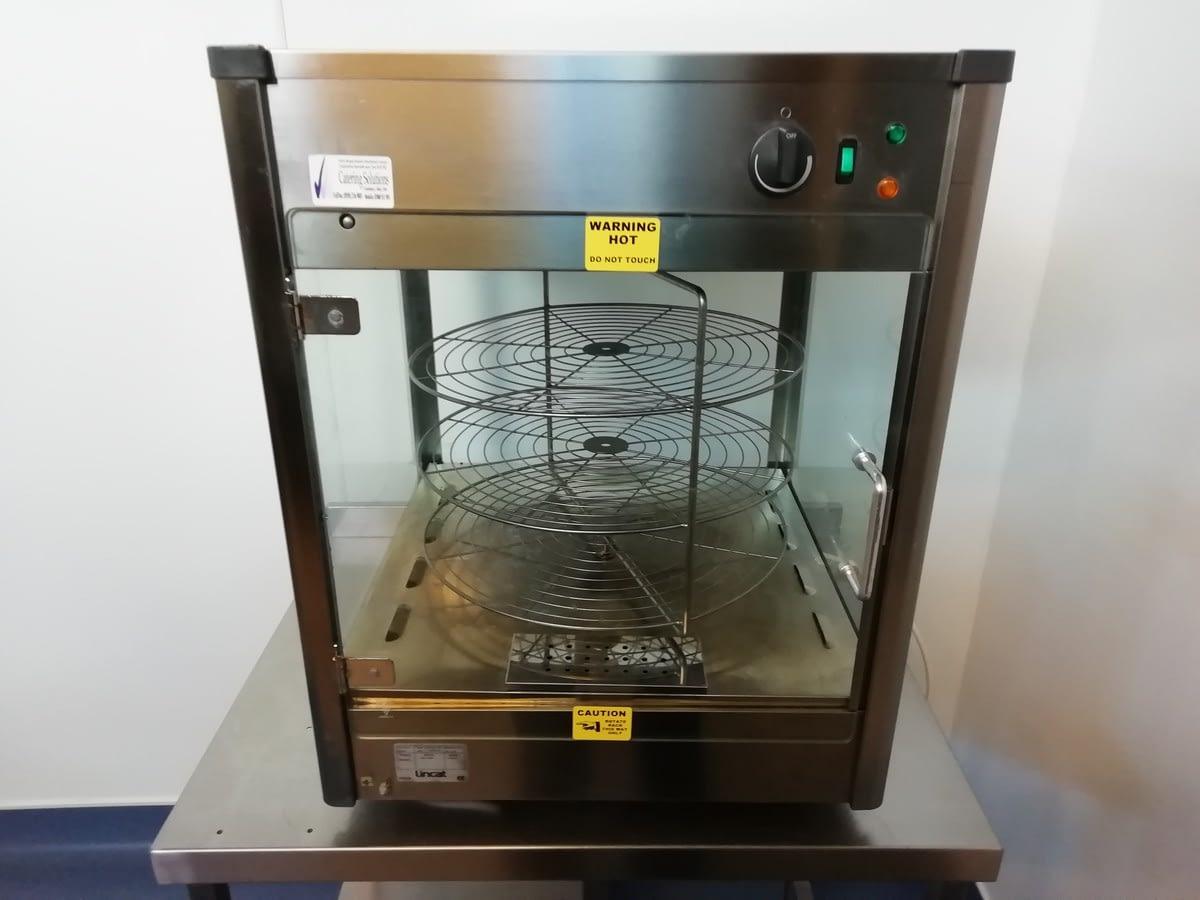 Lincat Upright Heated Merchandiser With Rotating Rack