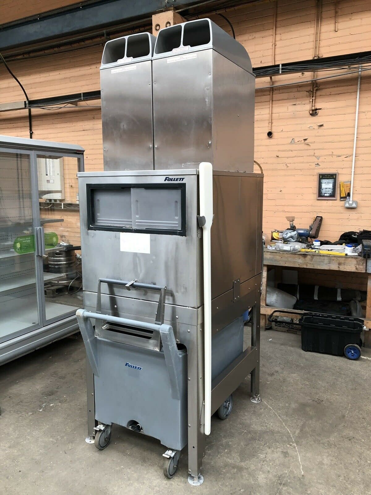 Follet Ice Flaker &Smart Cart With Inspection Pane – Lancashire
