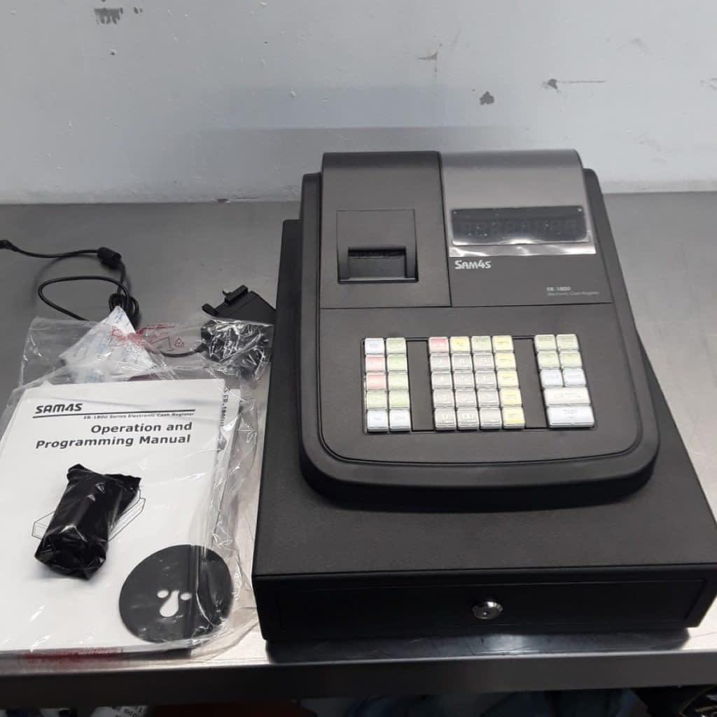 New B Grade Sam4S ER-180U Cash Register Till (10192) – Bridgwater, Somerset