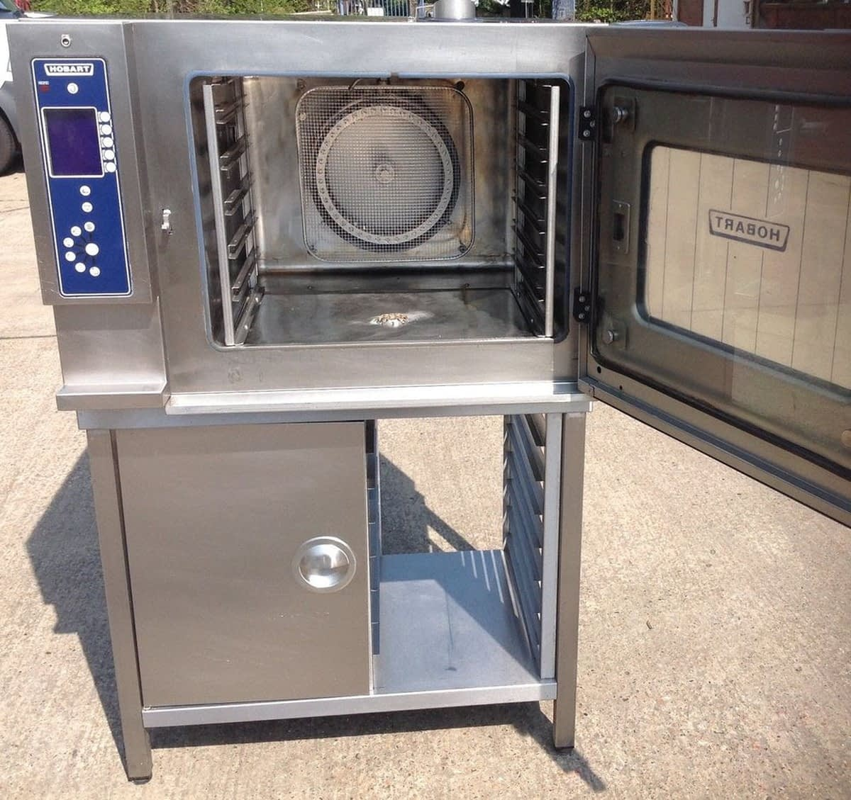 Hobart CSDUC 6 Grid Combi Oven, Electric, With Floor Stand, Fully Serviced, Easy Install – 24 Hour Delivery