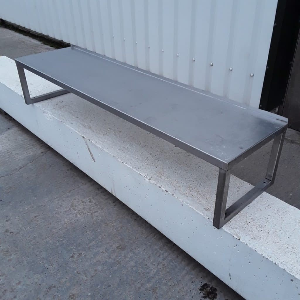 Used Stainless Steel Gantry Shelf (10061) – Bridgwater, Somerset