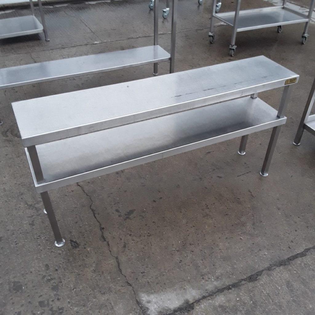 Used Stainless Steel Gantry Shelf Stand (10048) – Bridgwater, Somerset